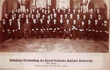 Foto AK zano-Assemblea D. Cartello-Associazione tedesca fabbrica Club Berlino