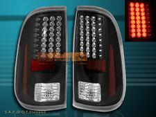 2008 2009 2010-2016 FORD F250 F350 F450 SUPER DUTY BLACK LED TAIL LIGHTS NEW