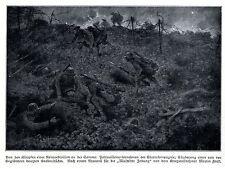 1915 * sturmkompagnie nettoie anglais tranchée sur le front de la somme * ww1