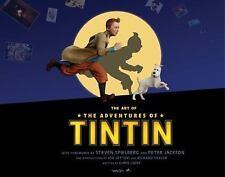Chris Guise~THE ART OF THE ADVENTURES OF TINTIN~1ST/DJ~NICE COPY