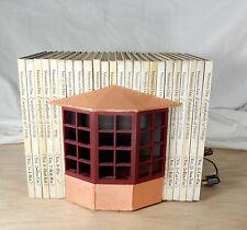 Vintage Shannon Moore Kitchen Book Room Box Artisan Dollhouse Miniature 1:12
