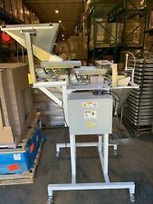 "Weigh Right Weight Filling Machine, Model Pmb 802S, 120V, hopper & stand, 8""x8"""