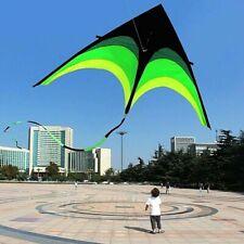 Große Delta Drachen Flugdrachen Kinder Erwachsene Draußen Spiel Geschenken Neu