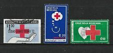 Mexico Red Cross Stamps