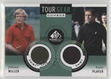 2014 SP Game Used Edition Tour Gear Combos Shirt Gary Player Johnny Miller