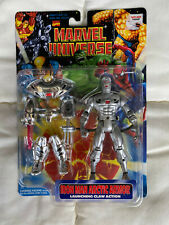 Iron Man Arctic Armor with Launching Claw Action Marvel Action Figure