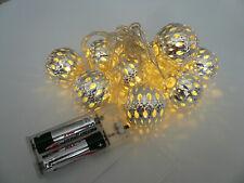 LED-Lichterkette Advent Weihnachten Dekoration Lichtdekoration LED-Deko Kugel