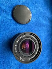 Leica Leitz Wetzlar Summicron-R 35mm f2 3 cam Lens