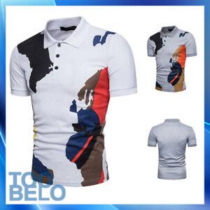 Camiseta Polo De Verano Camiseta De Manga Corta Casual Elegante Lujo Para Hombre