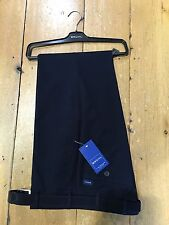 Bruhl Stretch Cotton MONTANA Regular Fit Trousers/Navy (Marine) - 42/30