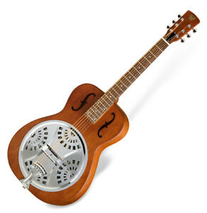 Epiphone Dobro Hound Dog Round Neck Resonator Gitarre Akustik Guitar Vintage