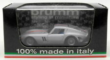Modellini statici di auto da corsa argento ferrari , Scala 1:43