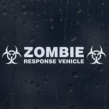 Zombie Response Vehicle Biohazard Car Decal Vinyl Sticker For Bumper Or Window