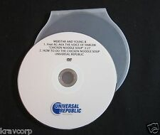 WEBSTAR & YOUNG B 'CHICKEN NOODLE SOUP' 2006 PROMO DVD