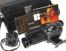CAMERA BEAULIEU 4008 ZM SUPER 8 ZOOM ANGENIEUX PARIS 1,9/8-64 mm  EXC