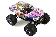 Custom Body Graffiti Pig for Traxxas Summit / Slash 1/10 Truck Car Cover Shell