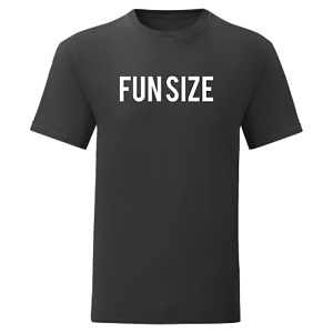 Fun size T-shirt unisex available in black-red-white-navy