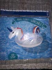 New Inflatable Unicorn Pool Float 5 Feet Long