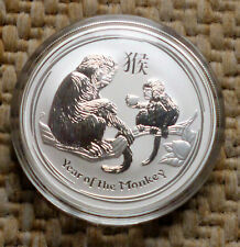 Lunar II 2016 Affe Monkey 1 Unze OZ Onza Silber Münze Silver Australia Dollar