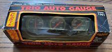 New Vintage Deadstock Csi 1301 Trio Auto Gauge Ammeter Oil Water Temp Fits All
