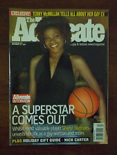 """THE ADVOCATE Magazine November 22,  2005 """"A SUPERSTAR COMES OUT"""" Sheryl Swoops"""
