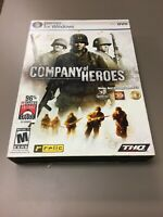 Company of Heroes Game DVD For Windows Relic THQ