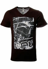 V Neck G-Star Graphic Fitted T-Shirts for Men