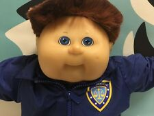 Cabbage Patch Kids TRU Police Officer Red Head Boy Doll