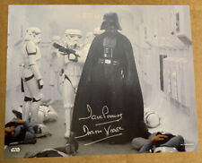 More details for autographed star wars dave prowse darth vader 8x10 hand signed picture 1