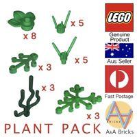Genuine LEGO® - PLANT PACK- Brand New Parts (MOC, Garden, Grass, Tree, Bush)