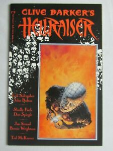 Clive Barkers Hellraiser #1 - 1st Pinhead 1989 1st Print Epic Comics Horror