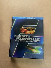 Fast And The Furious: 6 Movie Collection (DVD, 2014, 6-Disc Set) 1-6