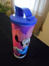 TUPPERWARE MINNIE MOUSE TUMBLER WITH DRINKABLE SEAL