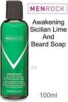 Men Rock London UK -Grooming Beard Soap Balm Oil Conditioner 100ml liquid Bottle