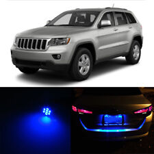 Blue LED License Plate Light For Jeep Grand Cherokee 1993-2013 2009 2010 2011