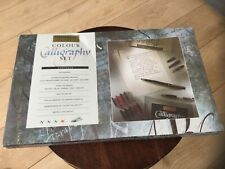 Osmiroid  Colour Calligraphy set BNIB sealed  collectable vintage item