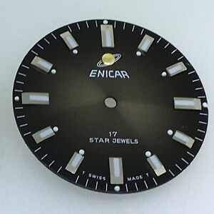 Watch Dial Replacement Part 29.1MM Dial for Oyster Perpetual 160 Watch Movement
