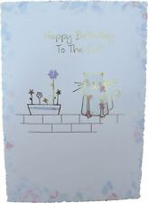 Happy Birthday to the CAT (on a wall) by iparty - 18720a