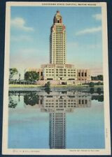New listing Louisiana State Capitol, Baton Rouge, LA Postcard 1943