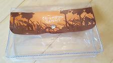 Leighton Denny Around The World Orange Manicure/Pedicure/Cosmetic Bag