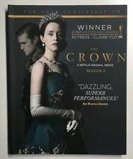 CROWN Netflix 2018 Emmy Book  Set Complete Season 2 Claire  NEW!