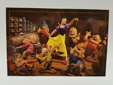 WDCC Disney Post Card Snow White and the Seven Dwarfs 4 x 6