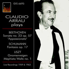 Beethoven / Claudio - Claudio Arrau Plays Beethoven, Schumann & Liszt [New CD]