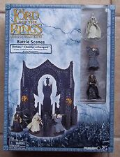 LOTR. ORTHANIC CHAMBER AT ISENGARD. AOME. BATTLE SCENES NEW IN BOX W/ 3 FIGURES