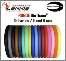 Meterware Beta-BioThane® RUND, Durchmesser 6,4 oder 8 mm, 18 Farben, jede Länge