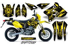 Decal Graphic Kit Wrap For Kawasaki KLX400 KLX 400 00-18 Dirt Bike NIGHTWOLF YLW