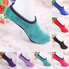 warmer Damen Hausschuh rutschfeste Socken Fleece Gripper Pantoffeln P1