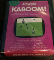 KABOOM! by ACTIVISION for ATARI 2600 ▪︎ CARTRIDGE ONLY ▪︎ FREE SHIPPING ▪︎