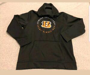 Cincinnati Bengals Under Armour Black Pullover Hoody Sweater Jacket Men's 3XL