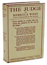 The Judge ~ REBECCA WEST ~ First Edition ~ 1st Printing 1922